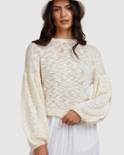 6 Sunray Sweater White ABJSW00190 Billabong