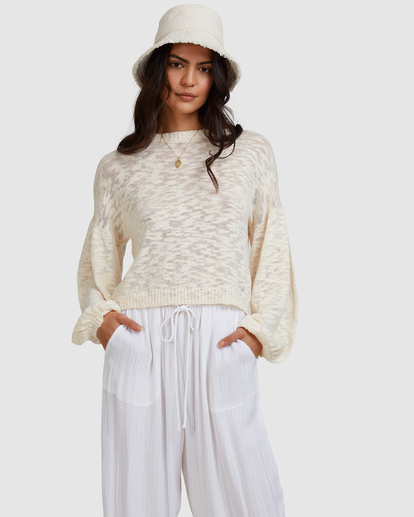 1 Sunray Sweater White ABJSW00190 Billabong