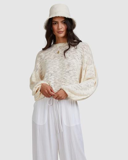5 Sunray Sweater White ABJSW00190 Billabong