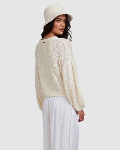 3 Sunray Sweater White ABJSW00190 Billabong