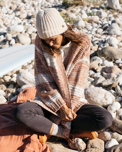 0 So Cozy Cardigan Sweater Brown ABJSW00192 Billabong