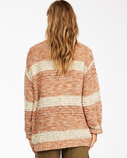 3 So Cozy Cardigan Sweater Brown ABJSW00192 Billabong