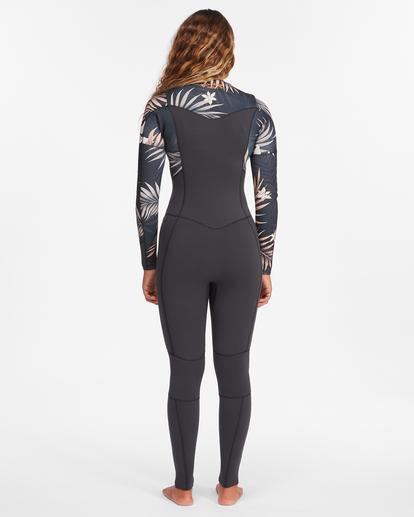 3 3/2 Salty Dayz Full Wetsuit Black ABJW100121 Billabong