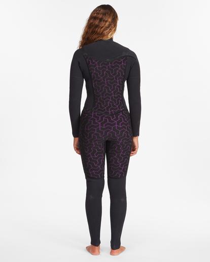7 3/2 Salty Dayz Full Wetsuit Black ABJW100121 Billabong