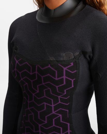 8 3/2 Salty Dayz Full Wetsuit Black ABJW100121 Billabong