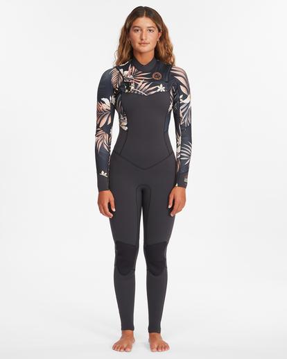 0 3/2 Salty Dayz Full Wetsuit Black ABJW100121 Billabong