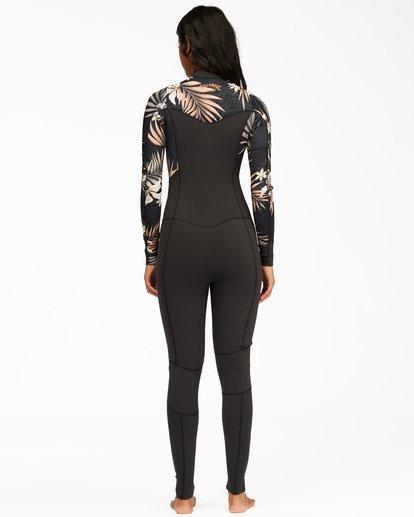 2 4/3 Salty Dayz Full Wetsuit Black ABJW100122 Billabong