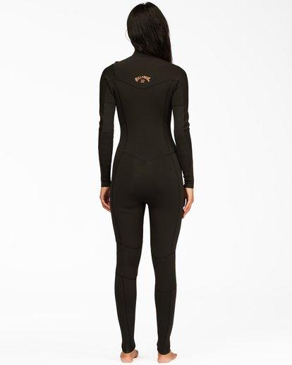 2 4/3 Synergy Chest Zip Full Wetsuit Black ABJW100130 Billabong