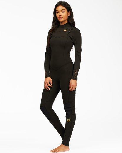 1 4/3 Synergy Chest Zip Full Wetsuit Black ABJW100130 Billabong