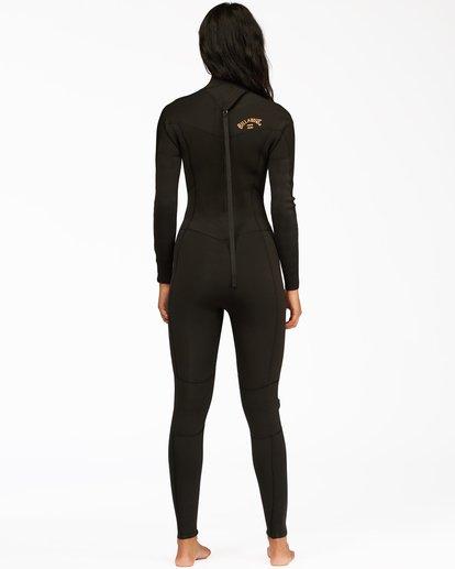 2 4/3 Synergy Back Zip Full Wetsuit Black ABJW100133 Billabong