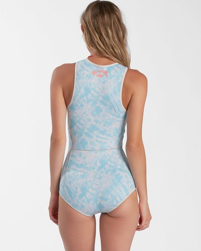2 1mm Sol Sistah Shorty Spring Wetsuit Blue ABJW500101 Billabong
