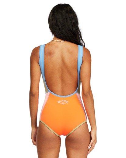 4 Seaker Reversible Sleeveless Spring Wetsuit Red ABJW600100 Billabong