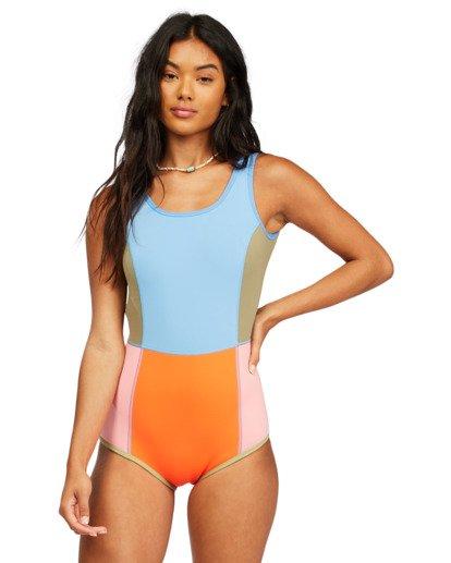 1 Seaker Reversible Sleeveless Spring Wetsuit Red ABJW600100 Billabong