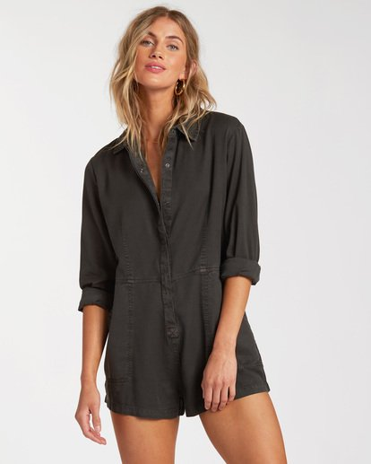 0 Gigi Playsuit Jumpsuit Black ABJWD00135 Billabong