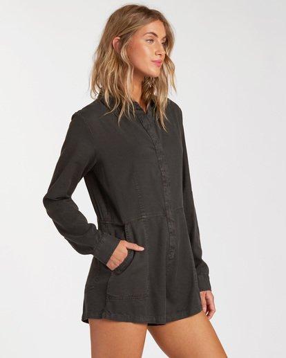 1 Gigi Playsuit Jumpsuit Black ABJWD00135 Billabong