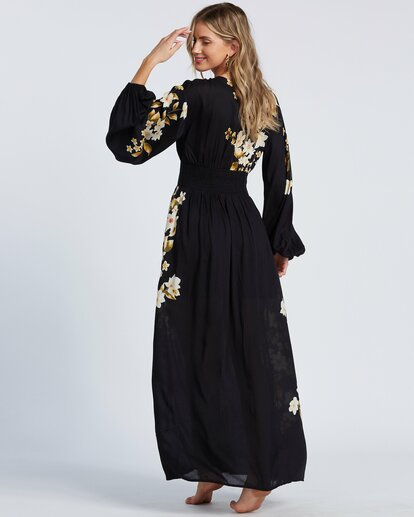 4 Night Bloom Dress Black ABJWD00151 Billabong