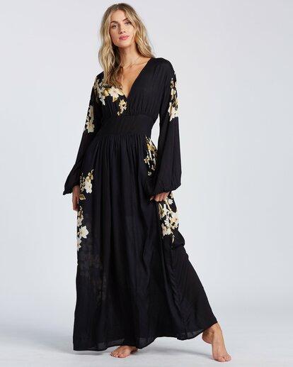 2 Night Bloom Dress Black ABJWD00151 Billabong