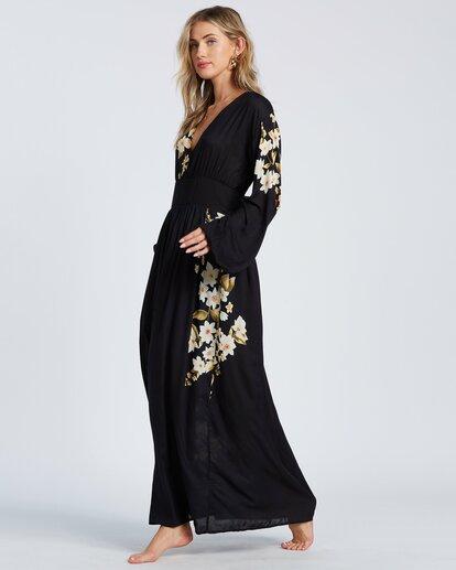 3 Night Bloom Dress Black ABJWD00151 Billabong