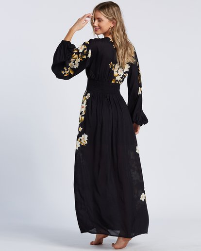 4 Night Bloom Dress Black ABJWD00151 Billabong