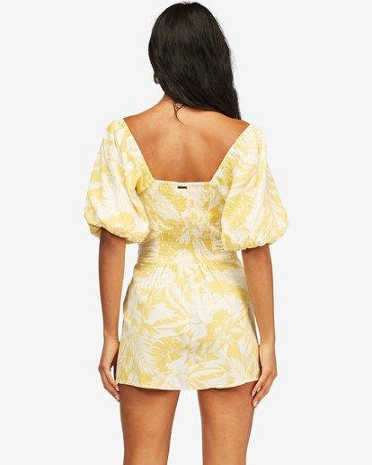 3 Hello Sun Mini Dress Yellow ABJWD00156 Billabong