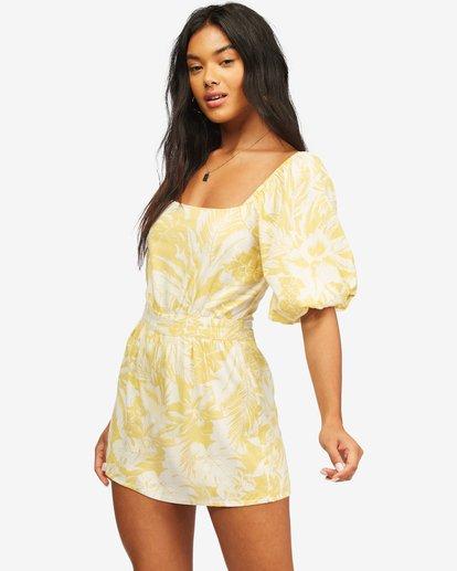 1 Hello Sun Mini Dress Yellow ABJWD00156 Billabong