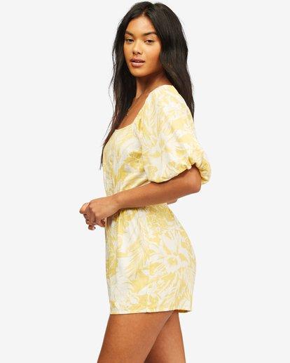 2 Hello Sun Mini Dress Yellow ABJWD00156 Billabong