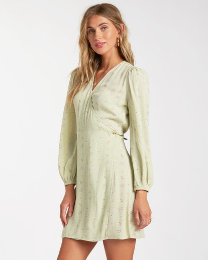 3 Lotta Love Dress Green ABJWD00158 Billabong