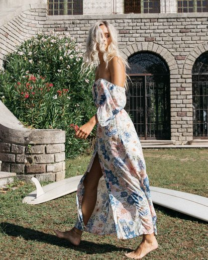 0 Dreamer Maxi Dress Grey ABJWD00160 Billabong