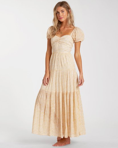1 Sunrise Maxi Dress Yellow ABJWD00168 Billabong
