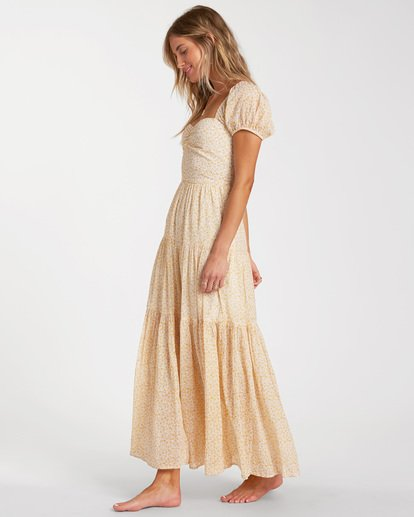 2 Sunrise Maxi Dress Yellow ABJWD00168 Billabong