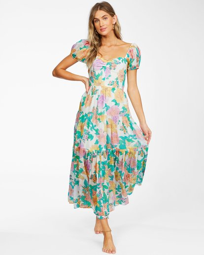 1 Sunrise Maxi Dress White ABJWD00168 Billabong