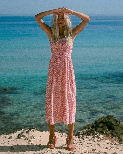 0 Baja Breeze Dress Pink ABJWD00176 Billabong