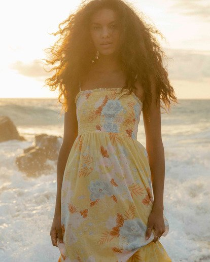 0 Baja Breeze Dress Yellow ABJWD00176 Billabong