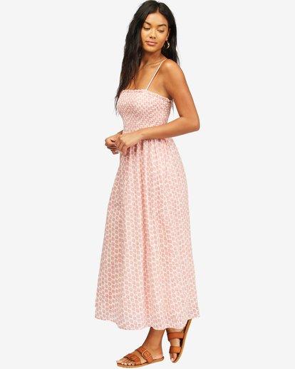 2 Baja Breeze Dress Pink ABJWD00176 Billabong