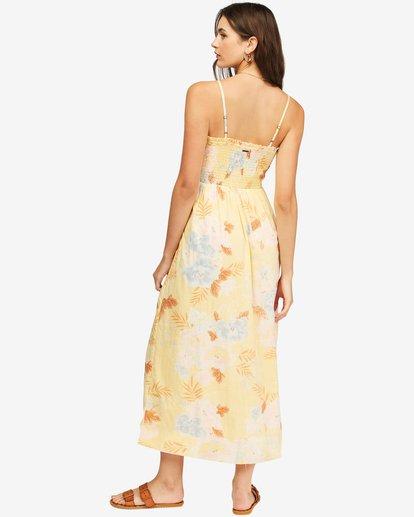 3 Baja Breeze Dress Yellow ABJWD00176 Billabong