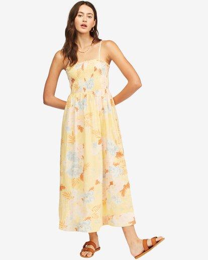 1 Baja Breeze Dress Yellow ABJWD00176 Billabong