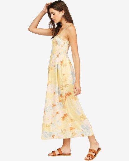 2 Baja Breeze Dress Yellow ABJWD00176 Billabong