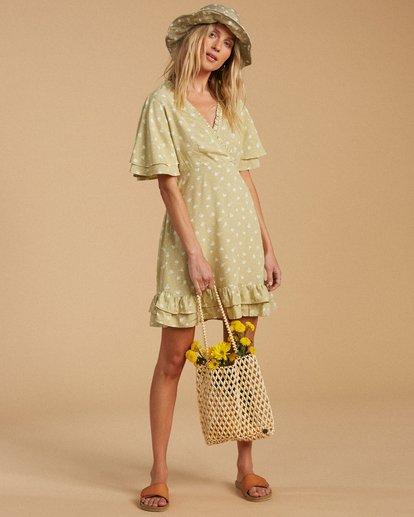 1 Salty Blonde In Bloom Dress Beige ABJWD00189 Billabong