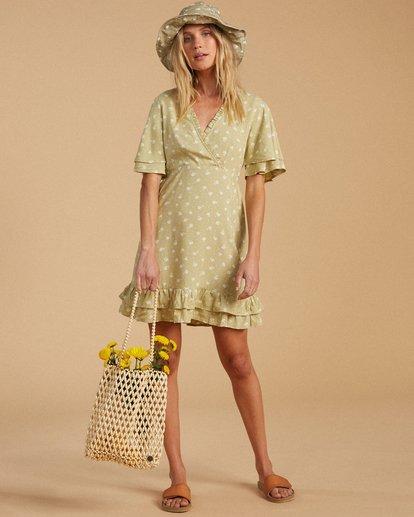 4 Salty Blonde In Bloom Dress Beige ABJWD00189 Billabong