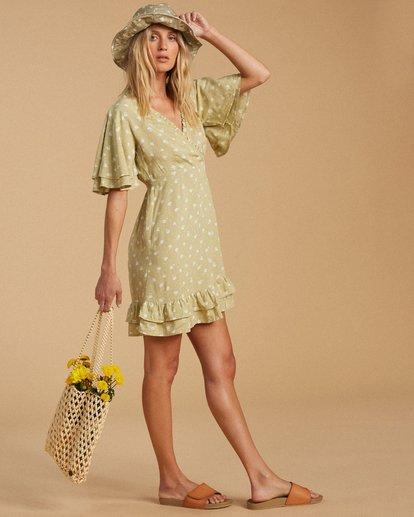 2 Salty Blonde In Bloom Dress Beige ABJWD00189 Billabong