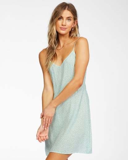 0 Blooming Dress White ABJWD00191 Billabong