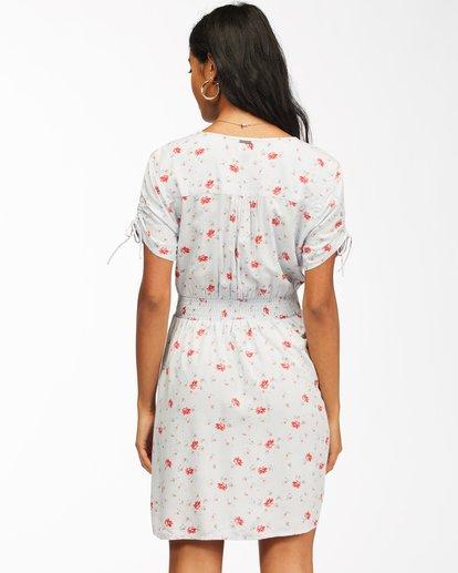 3 Twirl Twist Mini Dress White ABJWD00204 Billabong