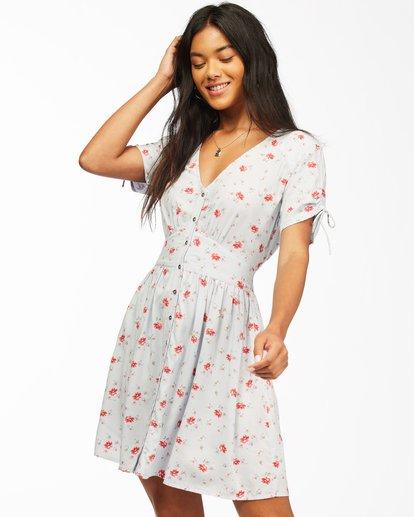 1 Twirl Twist Mini Dress White ABJWD00204 Billabong