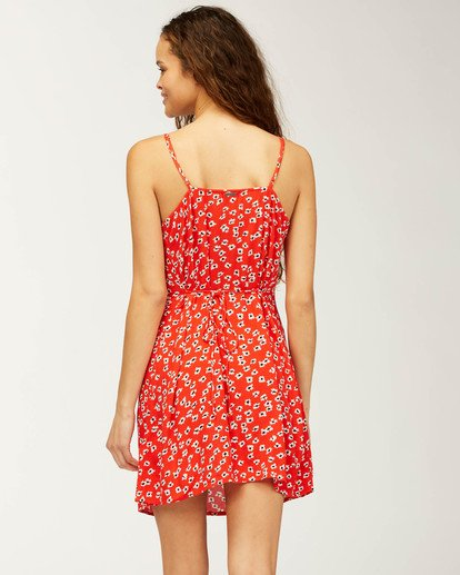 2 Sweet For Ya Dress Red ABJWD00205 Billabong