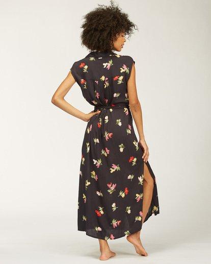 3 Little Flirt Maxi Dress Black ABJWD00207 Billabong