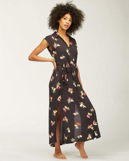 0 Little Flirt Maxi Dress Black ABJWD00207 Billabong