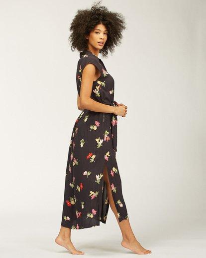 2 Little Flirt Maxi Dress Black ABJWD00207 Billabong