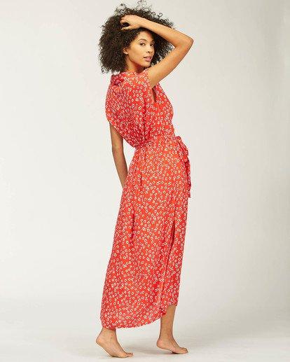 2 Little Flirt Maxi Dress Red ABJWD00207 Billabong