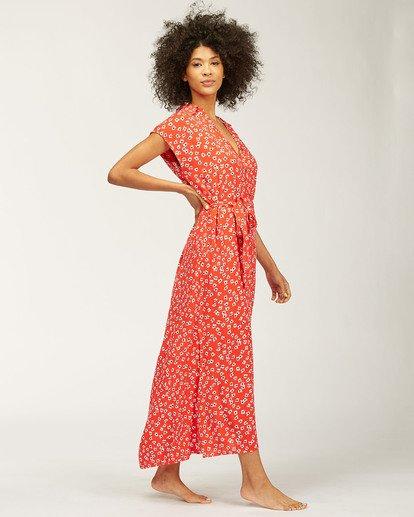 1 Little Flirt Maxi Dress Red ABJWD00207 Billabong