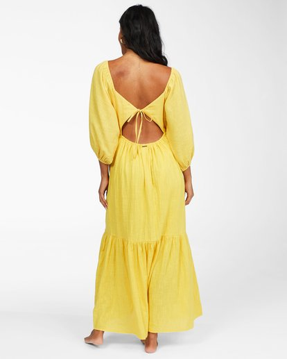 3 Dream Chaser Dress Yellow ABJWD00216 Billabong